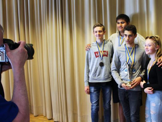 Silver in Swedish National Team Chess Competition 2019